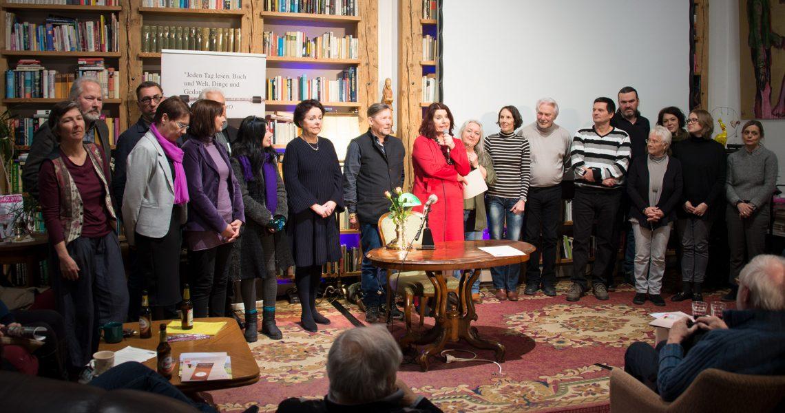 14 Keiper-Autor/innen präsentierten ihre Werke 2018.