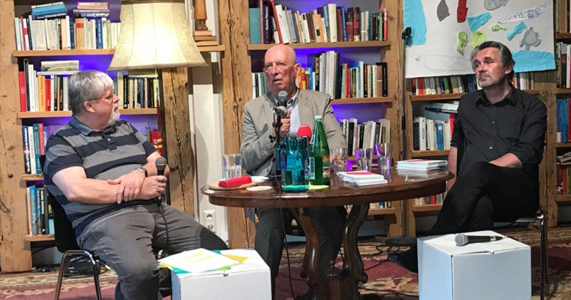 Keiper, Hüttenegger und Gottwald in der Diskussion